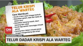 VIDEO: Telur Dadar Krispi Ala Warteg