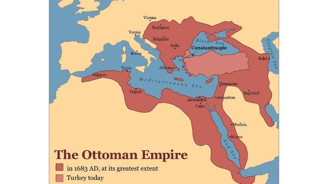 Dinasti Turki Usmani atau Ottoman masyhur karena pernah menguasai sebagian besar wilayah Eropa, Asia hingga Afrika Utara.