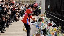 FOTO: Duka Warga Inggris atas Kepergian Pangeran Philip