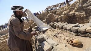 FOTO: Menyibak Kota Emas yang Terkubur 3000 Tahun di Mesir