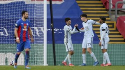 Crystal Palace Vs Chelsea: Pulisic 2 Gol, The Blues Menang 4-1