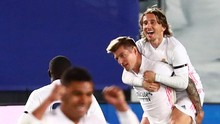 Hasil Liga Spanyol: Madrid Geser Barcelona Usai Hajar Granada
