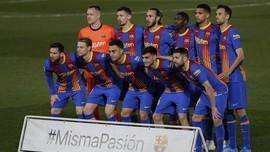 Daftar Pemain Barcelona di Final Copa Del Rey