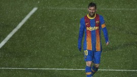Messi Dilarang Latihan bersama Barcelona