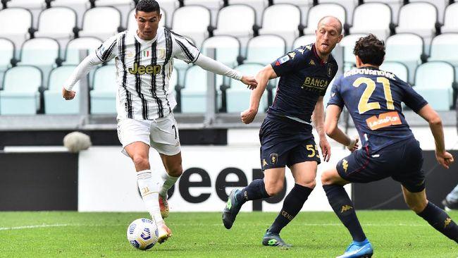 Juventus berhasil mengalahkan Genoa dengan skor 3-1 pada lanjutan Liga Italia di Allianz Stadium, Minggu (11/4) malam.