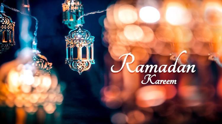 Ramadan Kareem Colorful Background  2020, Beautiful Traditional lantern light lamp, Islamic Decoration concept image Eid Mubarak