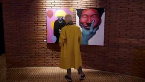 FOTO: Karya Seni Idol K-pop Akan Ditampilkan di London