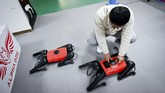 Perusahaan China berhasil membuat robot anjing peliharan dengan menggunakan teknologi kecerdasan buatan.