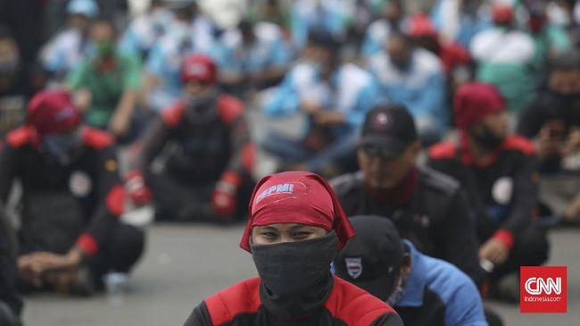 KSPI menyebut ribuan buruh akan turun ke jalan menggelar aksi solidaritas bagi Palestina pada Selasa (18/5) nanti.