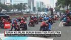 VIDEO: Turun Ke Jalan, Buruh Bawa Tiga Tuntutan