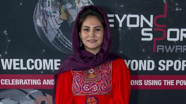 Hajar Abulfazl, Pejuang Atlet Wanita Afghanistan