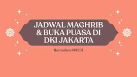 INFOGRAFIS: Jadwal Maghrib dan Buka Puasa di DKI Jakarta