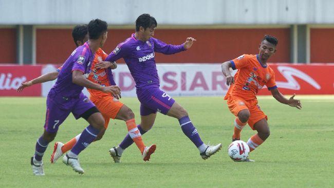 Striker Assanur Rijal 'Torres' selangkah lagi bakal bergabung dengan klub milik anak Presiden Jokowi, Kaesang Pangarep, Persis Solo.
