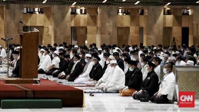 Masjid Istiqlal Gelar Salat Ied Terbatas Bagi 5 Ribu Jemaah