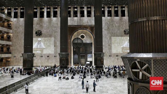 Gubernur DKI Jakarta Anies Baswedan mengatakan kebijakan Masjid Istiqlal yang tak menggelar Salat Idulfitri 1442 H patut menjadi contoh.