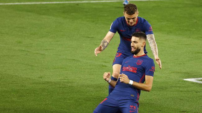 Atletico Madrid bisa mengunci gelar Liga Spanyol pada pekan ke-37 yang berlangsung pada Minggu (16/5) malam WIB.