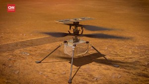 VIDEO: Helikopter Ingenuity NASA Gagal Terbang di Mars