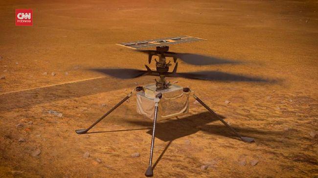 NASA kembali akan melakukan uji coba helikopter Ingenuity di Mars besok setelah pekan lalu kendaraan ini gagal terbang.