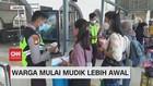 VIDEO: Dilarang Mudik, Warga Curi Start Pulang Kampung