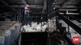 Pasar Inpres Pasar Minggu, Jakarta Selatan hangus dilalap si jago merah. Kebakaran terjadi Senin (12/4) malam membuat pedagang kehilangan kios tempat berjualan.