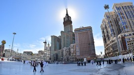 Mengenal Royal Clock Tower, 'Big Ben' di Jantung Mekkah