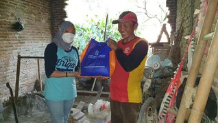 BRI Salurkan Bantuan bagi Warga Terdampak Gempa Malang
