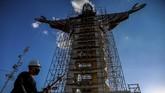 Sebuah patung besar Yesus Kristus sedang dibangun di selatan Brasil, dan monumen akan dibuat lebih tinggi dari patung yang telah ada di Rio de Janeiro.