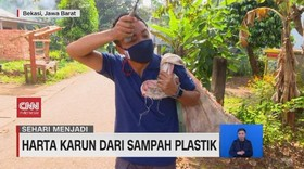 VIDEO: Harta Karun' Dari Sampah Plastik