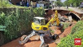 Perbaikan Jalan Amblas Boulevard GDC Makan Waktu 5 Bulan