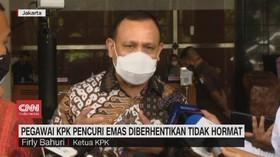 VIDEO: Pegawai KPK Pencuri Emas Diberhentikan Tidak Hormat