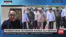 VIDEO: Pembentukan Detasemen Khusus Ala Menhan