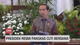 VIDEO: Presiden Resmi Pangkas Cuti Bersama