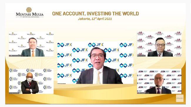 Meluncurkan CFD Stock Single pada Senin (12/4), PT Mentari Mulia Berjangka menjadi pialang nomor 1 di Indonesia dengan pilihan instrumen investasi terbanyak.
