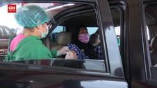 VIDEO: Warga Lansia Antusias Vaksinasi Hari Pertama Puasa