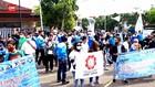 VIDEO: Unjuk Rasa Buruh Tolak THR Dicicil