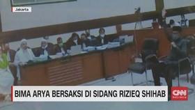 VIDEO: Bima Arya Bersaksi di Sidang Rizieq Shihab