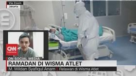 VIDEO: Ramadan di Wisma Atlet