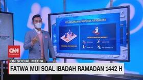 VIDEO: Fatwa MUI Soal Ibadah Ramadan 1442 H