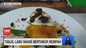 VIDEO: Takjil Labu Manis Bertabur Rempah
