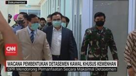 VIDEO: Wacana Pembentukan Detasemen Kawal Khusus Kemenhan