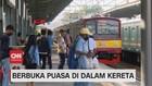 VIDEO: PT KCI Perbolehkan Penumpang Berbuka Didalam KRL