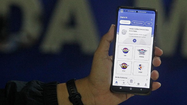 Data SIM Online di Sinar Jadi Big Data Forensik Kepolisian