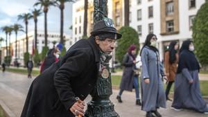 FOTO: Sisi Kelam di Balik Keceriaan Charlie Chaplin Maroko