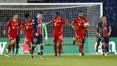 PSG melangkahi Bayern Munchen sekaligus balas dendam atas kekalahan di Liga Champions musim lalu. Simak foto pilihan laga itu.