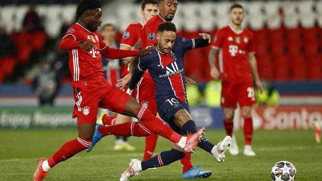 Bayern Munchen berhasil mengalahkan PSG dengan skor 1-0, tapi gagal ke semifinal.