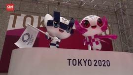 VIDEO: Peluncuran Patung Maskot 100 Hari Jelang Olimpiade