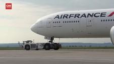 VIDEO: Prancis Akan Tutup Penerbangan Dari dan ke Brazil
