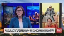 VIDEO: Wakil Rakyat Jadi Relawan Uji Klinik Vaksin Nusantara