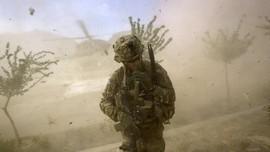 FOTO: Menanti Tentara AS Pulang dari Perang Terpanjang