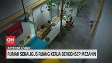 VIDEO: Rumah Sekaligus Ruang Kerja Berkonsep Mezanin